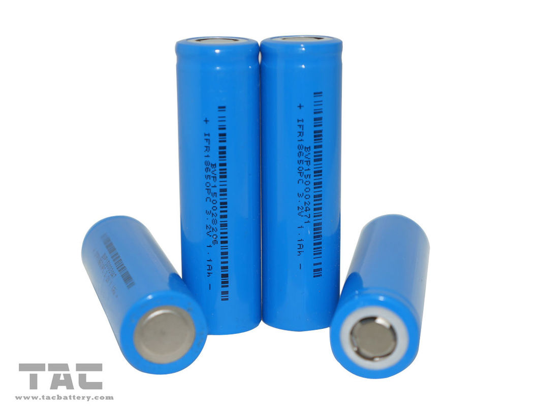 Rechargeable Lithium battery 18650 3.2V LiFePO4 Battery for Power Bank