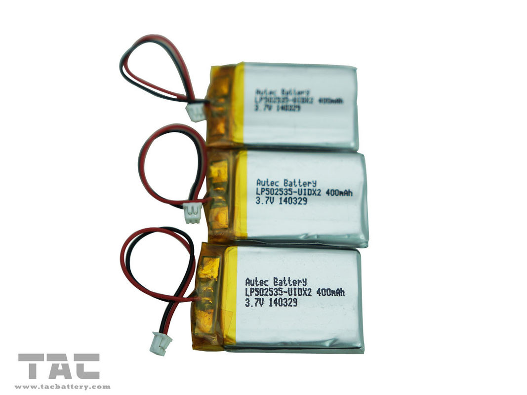 Lipo Battery  Rechargeable LP052030 3.7V 200mAh Polymer Lithium For Bluetooth