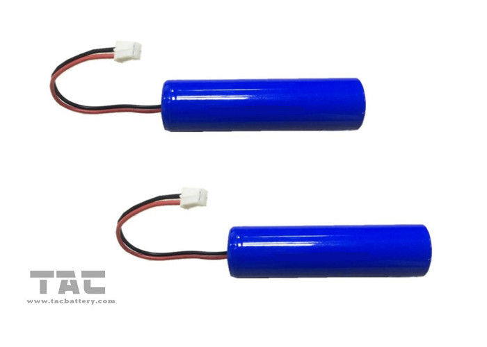 PVC Lithium Ion Cylindrical Battery 2600mah 3.7v For POS Terminals Stock